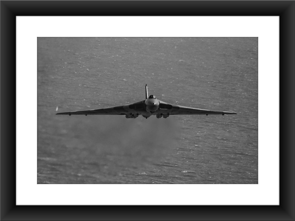 Mounted Vulcan XH558 Print - GORGEOUS GEORGE
