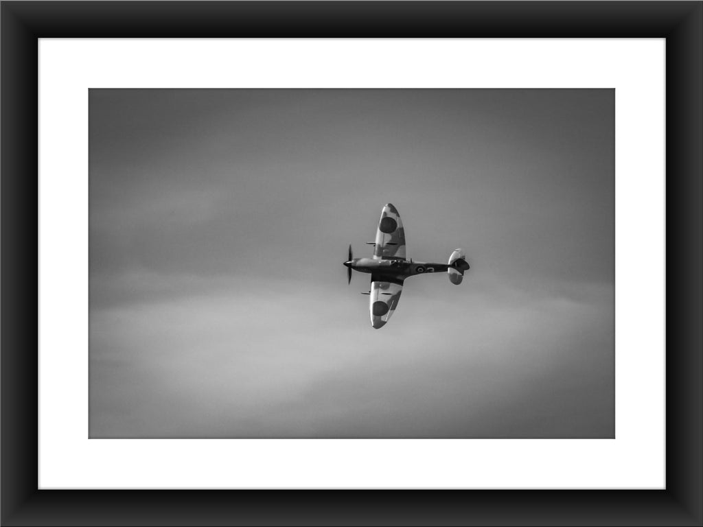 Mounted BBMF Spitfire Print | GORGEOUS GEORGE