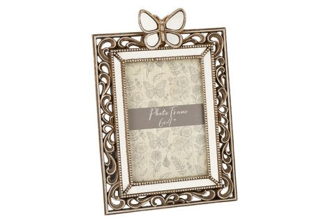 Ornate Mirrored Butterfly Picture Frame | GORGEOUS GEORGE