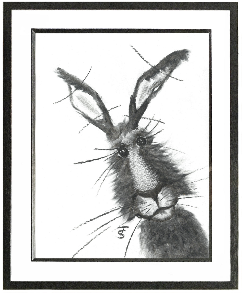 Arthur Framed Hare Illustration | GORGEOUS GEORGE