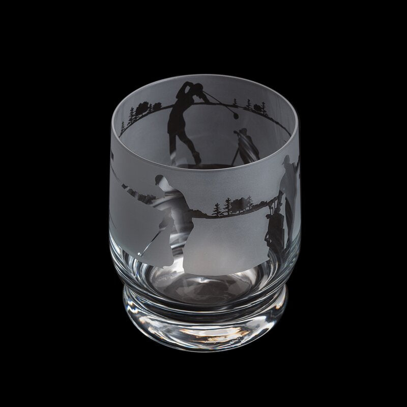 Dartington Crystal Aspect Golf Tumbler | GORGEOUS GEORGE