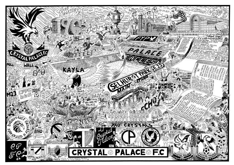 Crystal Palace Football History | GORGEOUS GEORGE