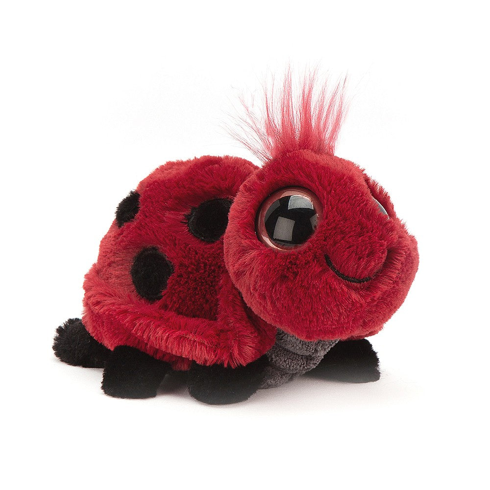 Jellycat Frizzles Ladybird | GORGEOUS GEORGE