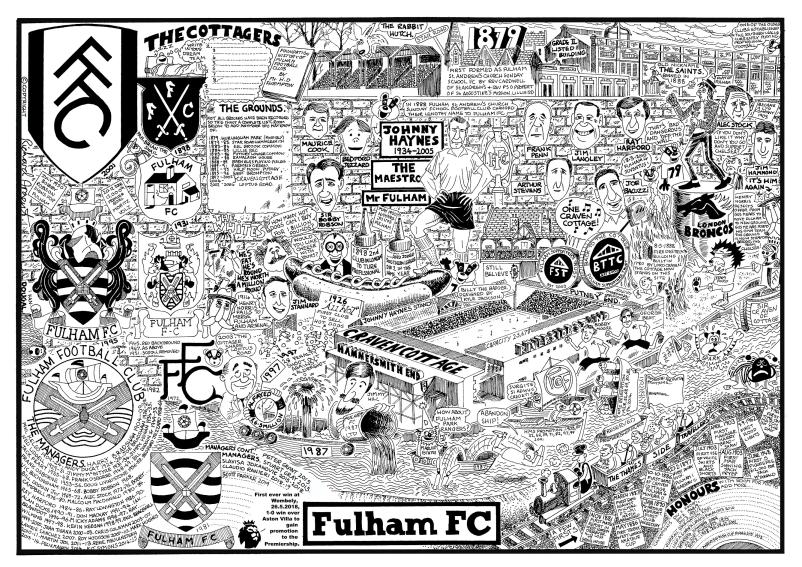Fulham Football History - GORGEOUS GEORGE