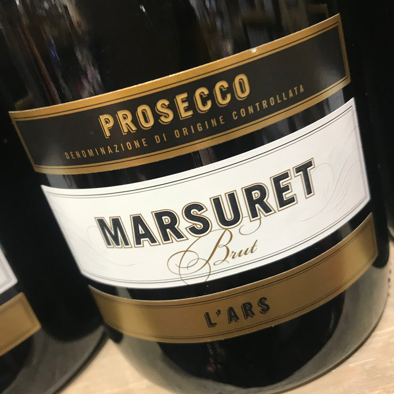 Prosecco Marsuret DOC Brut L'ARS  (Local Delivery Only)