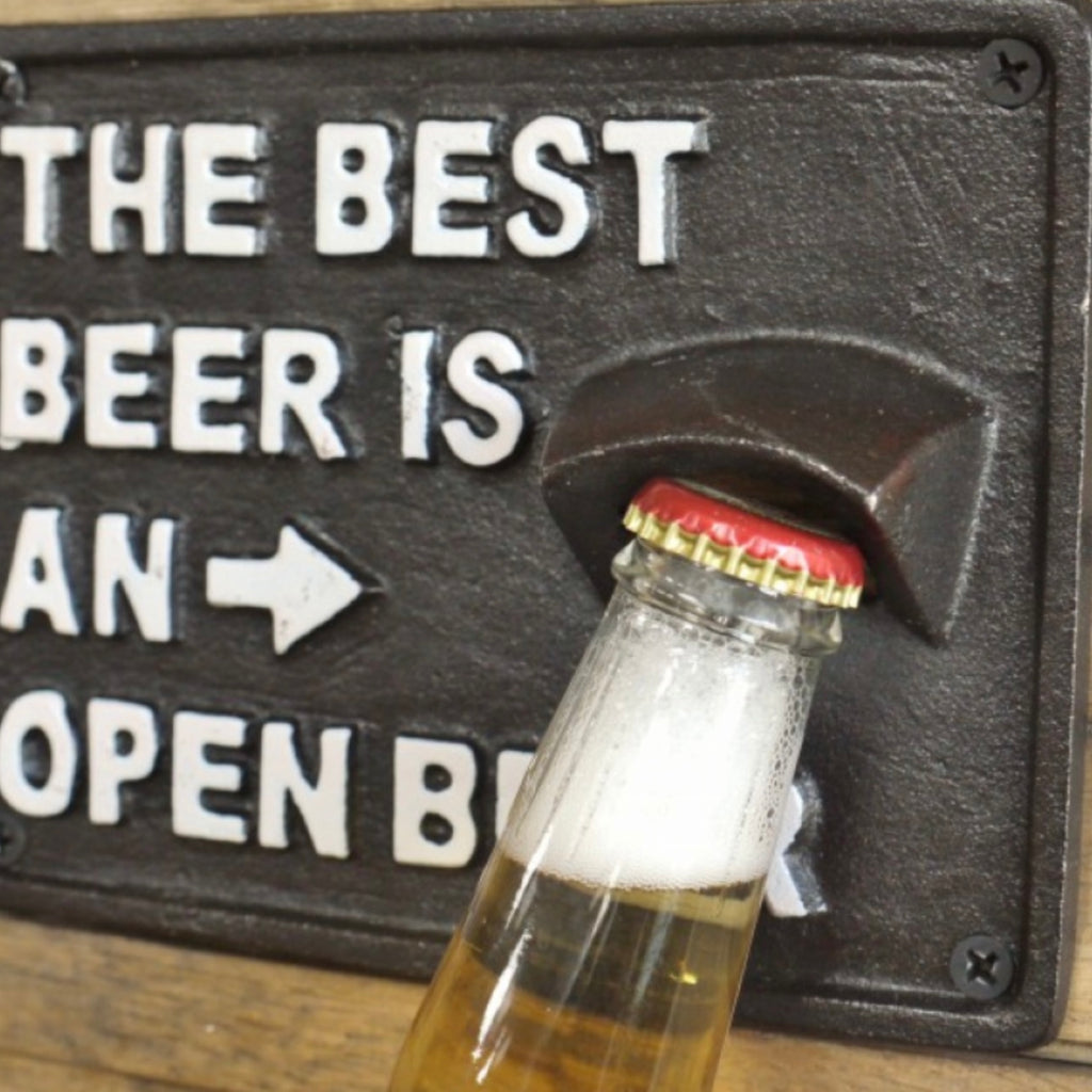 The Best Beer is an Open Beer Bottle Opener