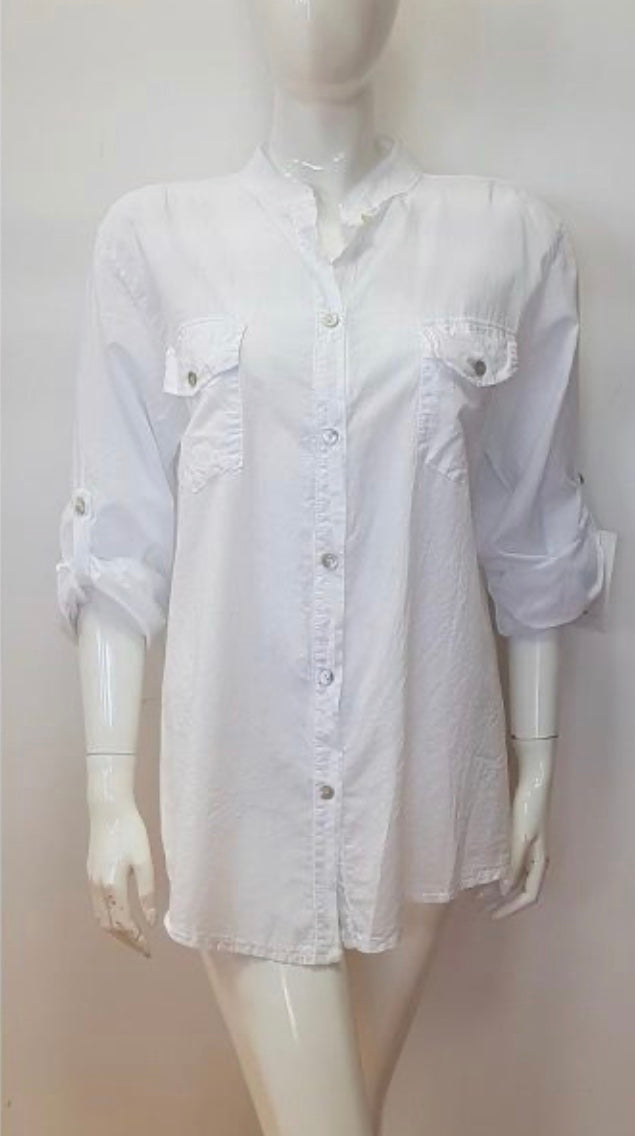 Cotton Grandad Shirt - GORGEOUS GEORGE