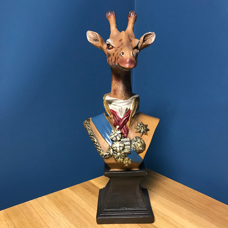 Decorative Giraffe Bust | GORGEOUS GEORGE