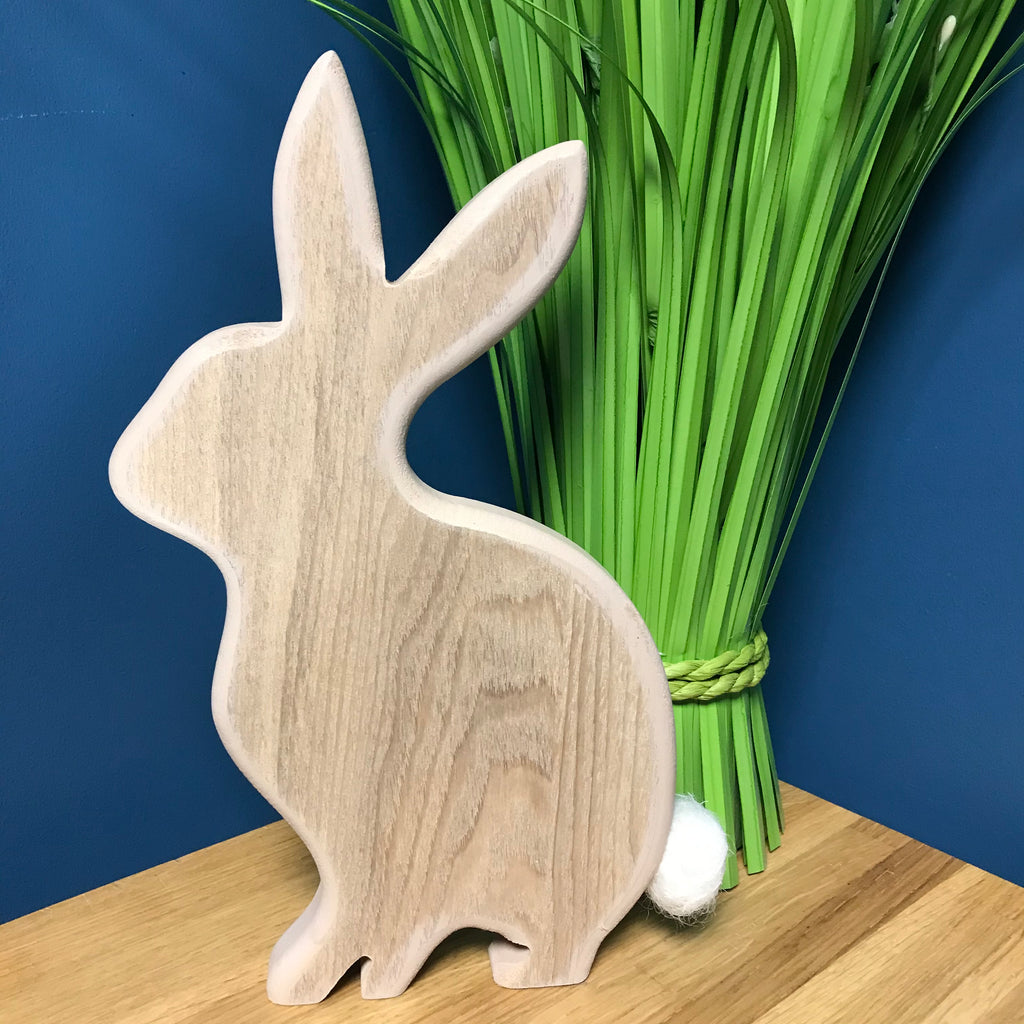 Wooden Bunny Decoration | GORGEOUS GEORGE