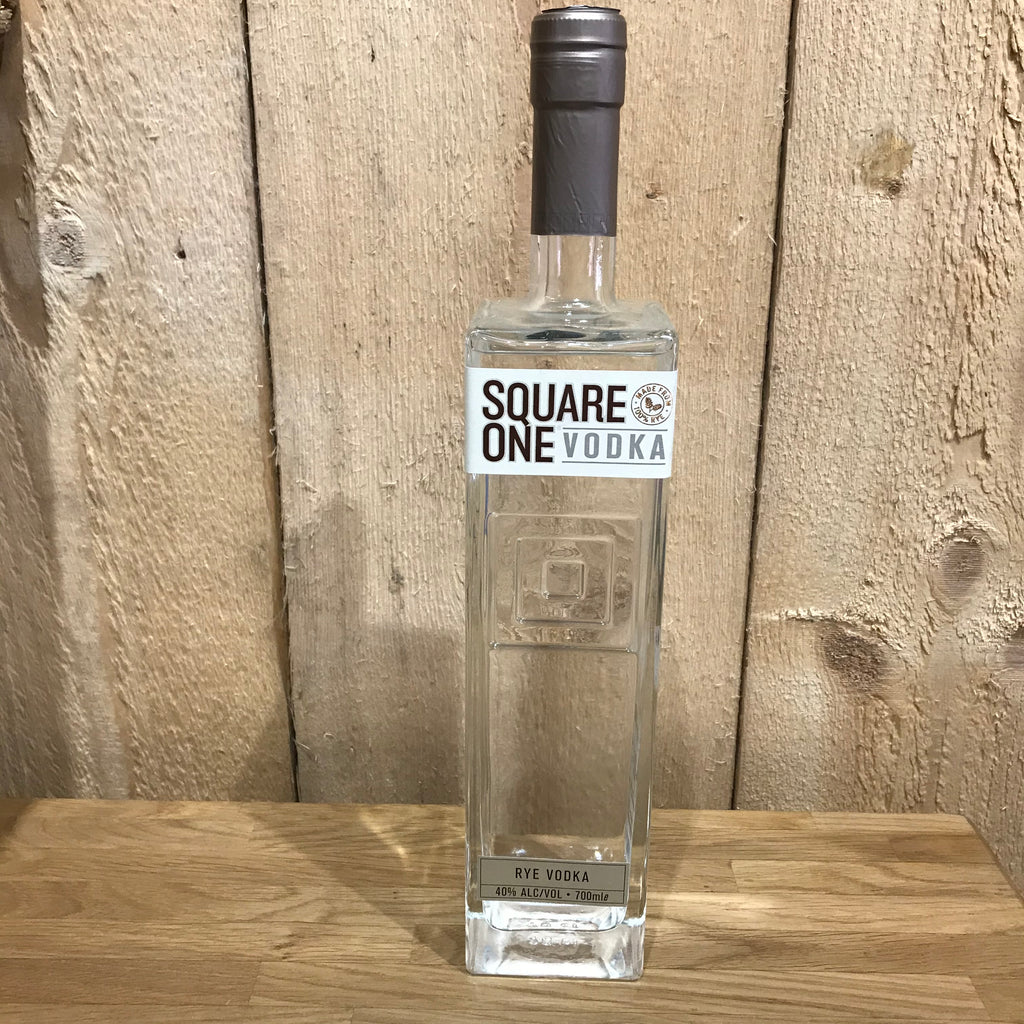 Square One Organic Rye Vodka (Local Delivery Only) - GORGEOUS GEORGE