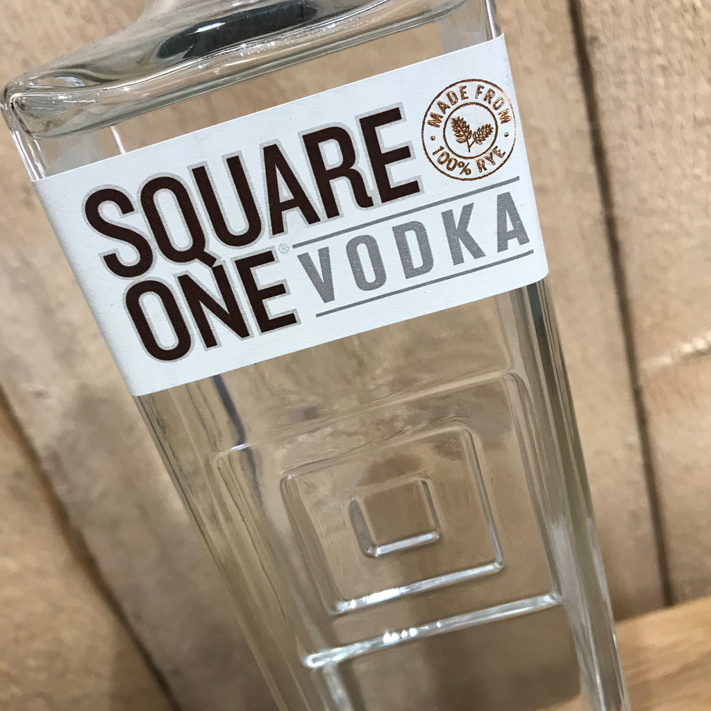 Square One Organic Rye Vodka (Local Delivery Only) | GORGEOUS GEORGE