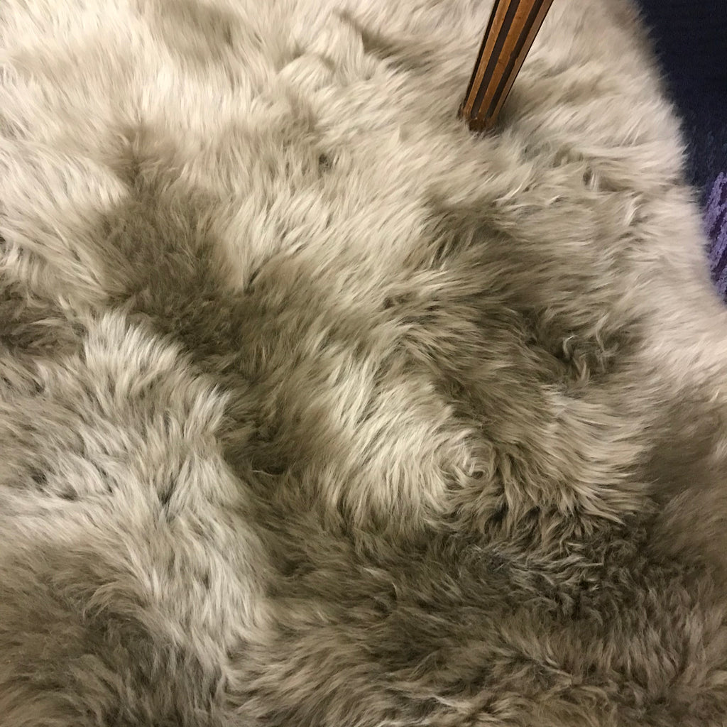 Premium Taupe Sheepskin Rug | GORGEOUS GEORGE