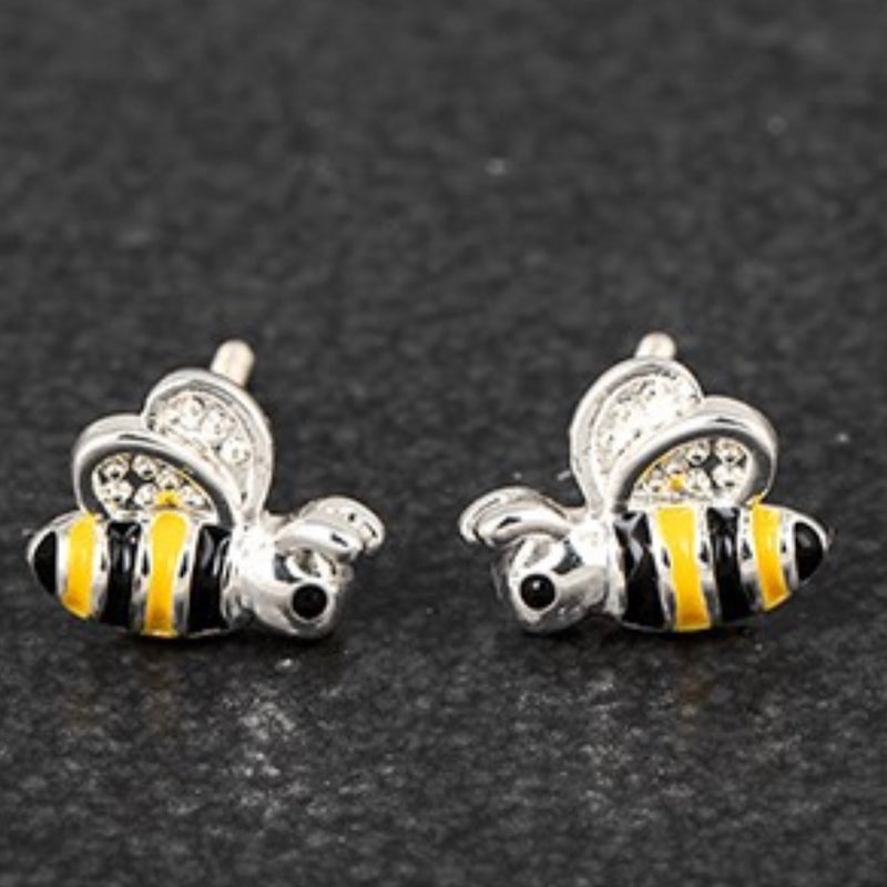 Equilibrium Bumble Bee Earrings - GORGEOUS GEORGE