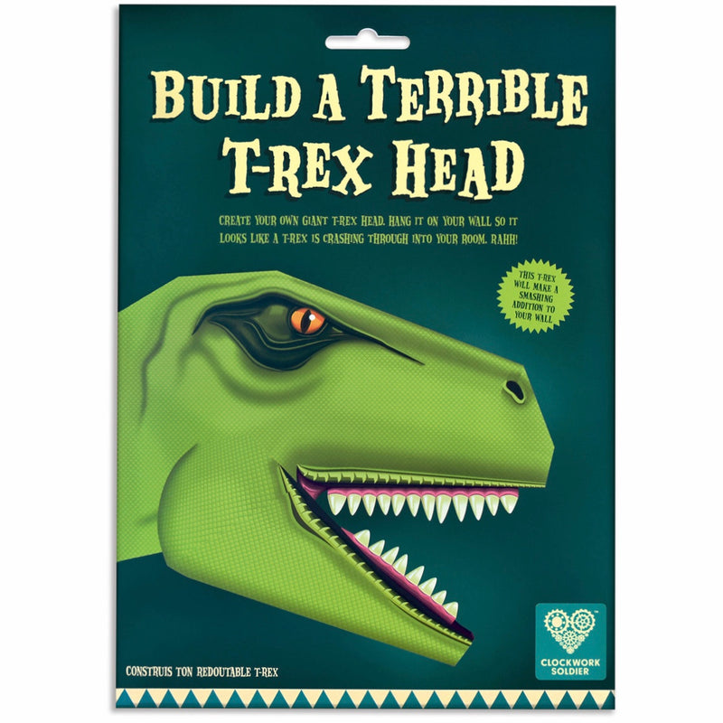 Create Your Own Terrible T-Rex Head | GORGEOUS GEORGE