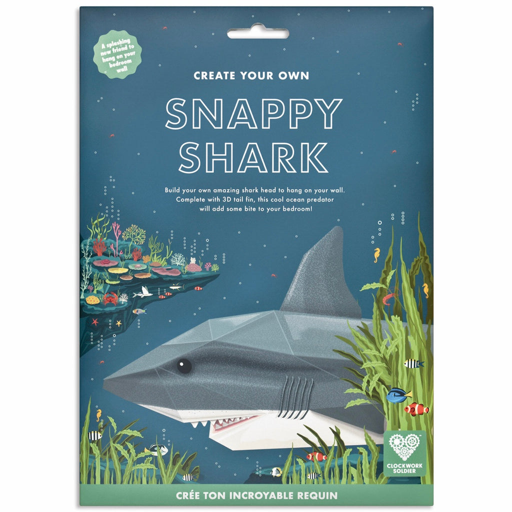 Create Your Own Snappy Shark | GORGEOUS GEORGE