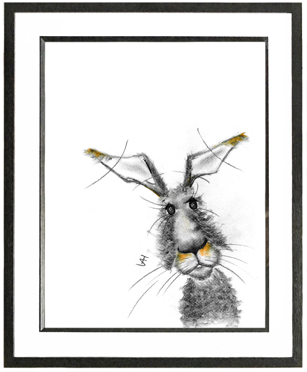 Matilda Framed Hare Illustration | GORGEOUS GEORGE