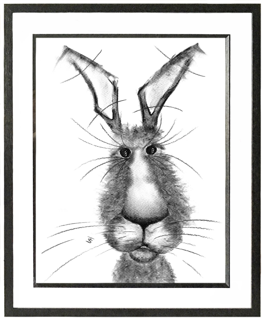 Michael Framed Hare Illustration | GORGEOUS GEORGE