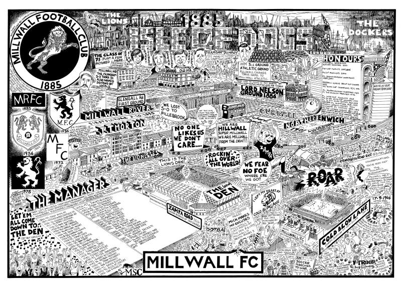 Millwall Football History - GORGEOUS GEORGE