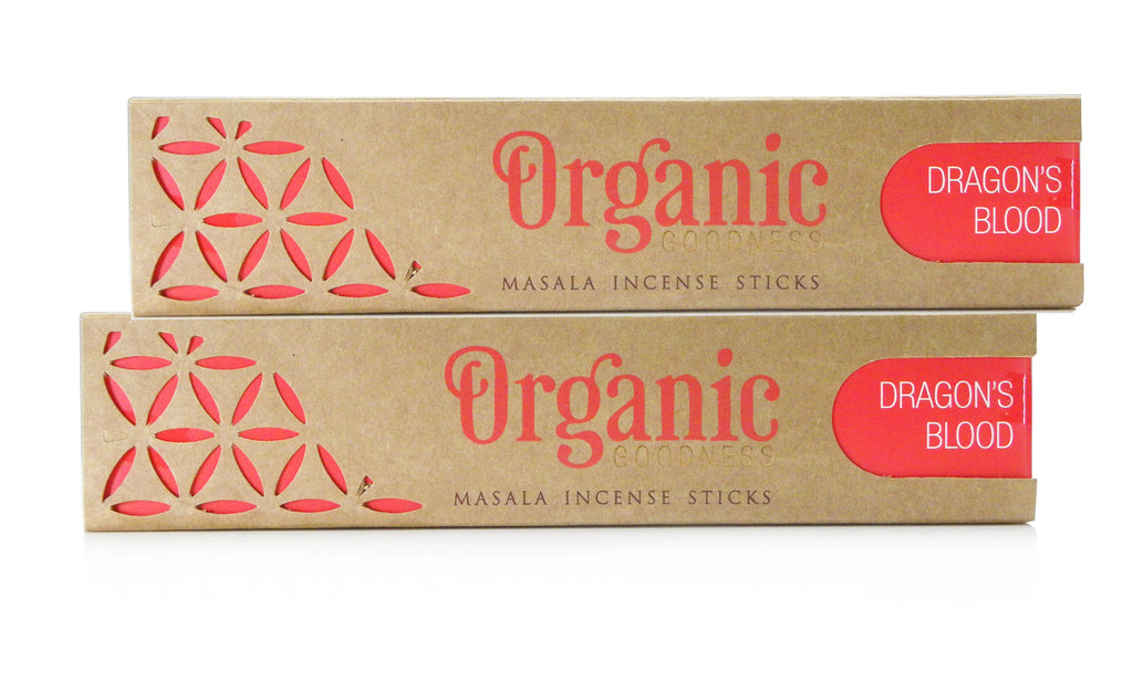 Dragons Blood Organic Incense Sticks | GORGEOUS GEORGE