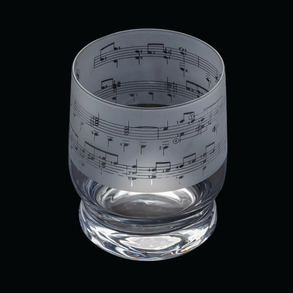 Dartington Crystal Aspect Music Tumbler | GORGEOUS GEORGE