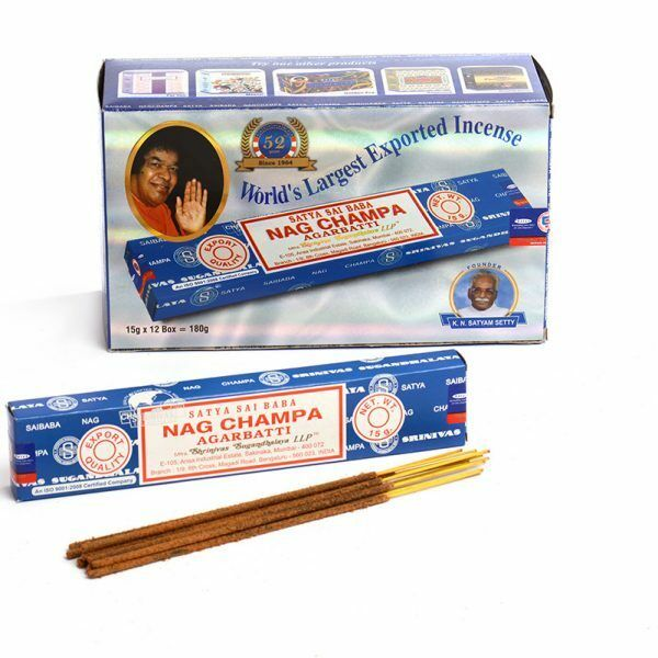 Satya Nag Champa Incense Sticks | GORGEOUS GEORGE