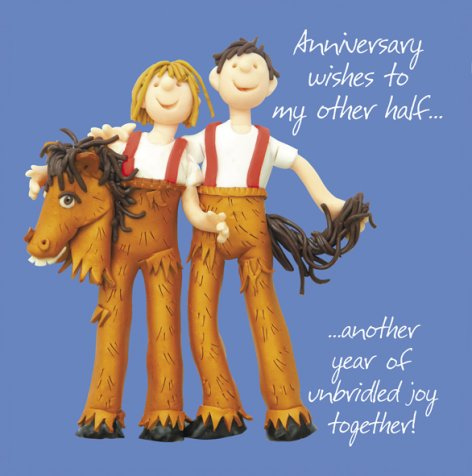 Anniversary wishes to my Other Half! | GORGEOUS GEORGE