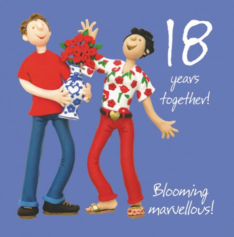 18 Years Together, Blooming Marvellous! | GORGEOUS GEORGE