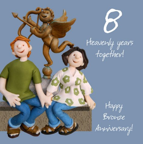 8 Heavenly Years Together, Bronze Anniversary! | GORGEOUS GEORGE