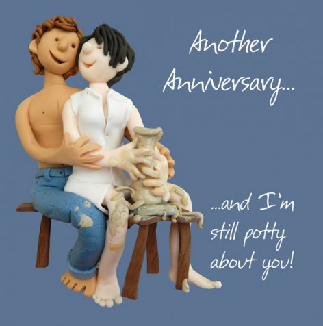 Another Anniversary...and I'm still Potty about you! | GORGEOUS GEORGE
