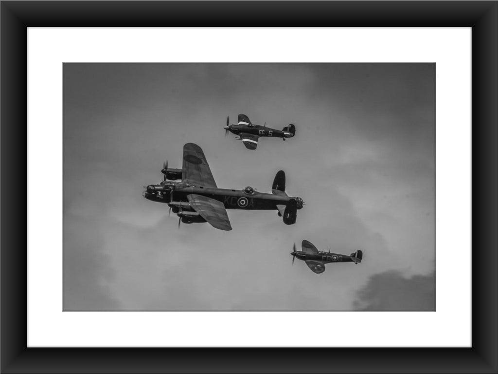 Mounted BBMF Print - GORGEOUS GEORGE