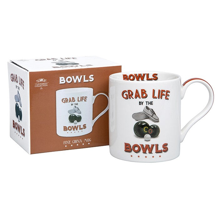 Grab Life by the Bowls Sports Mug | GORGEOUS GEORGE