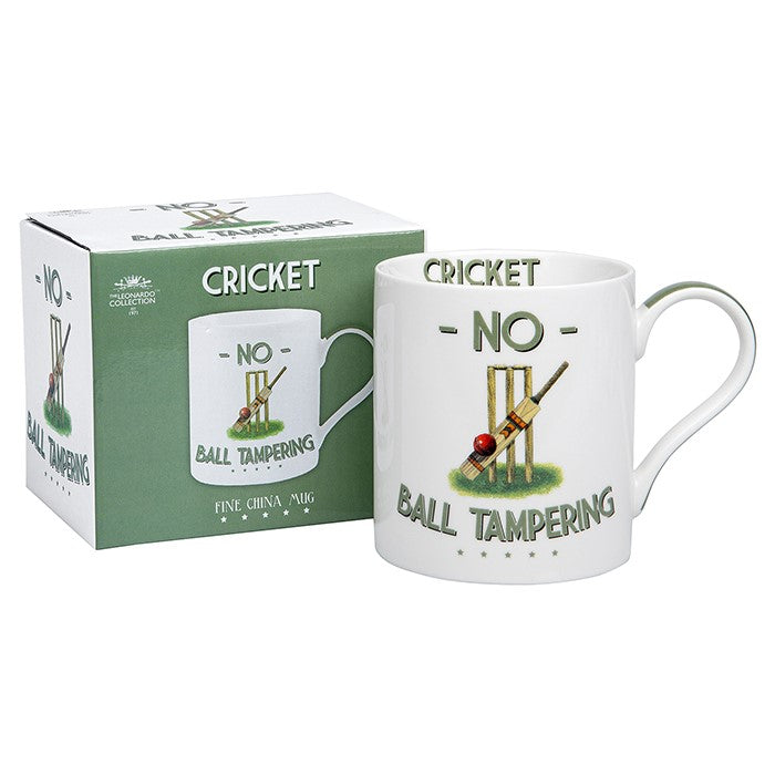 No Ball Tampering Cricket Sports Mug | GORGEOUS GEORGE
