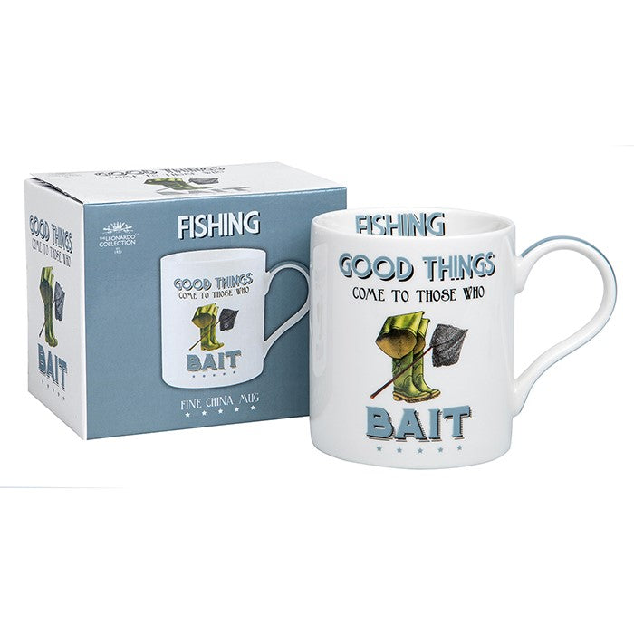 Good Things come to those who Bait Fishing Sports Mug | GORGEOUS GEORGE