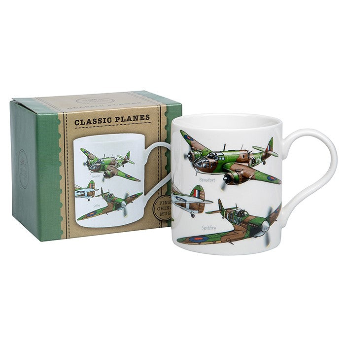 Mens Classic War Plane Mug | GORGEOUS GEORGE