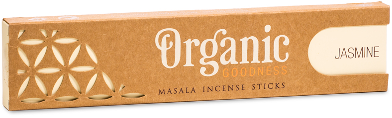 Jasmine Organic Incense Sticks | GORGEOUS GEORGE