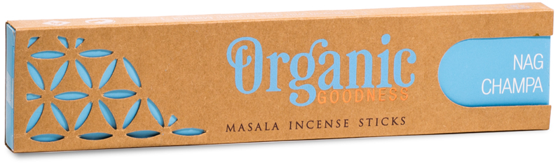 Nag Champa Organic Incense Sticks | GORGEOUS GEORGE