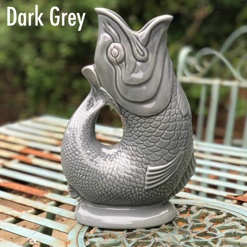 Dark Grey Gluggle Jug XL | GORGEOUS GEORGE
