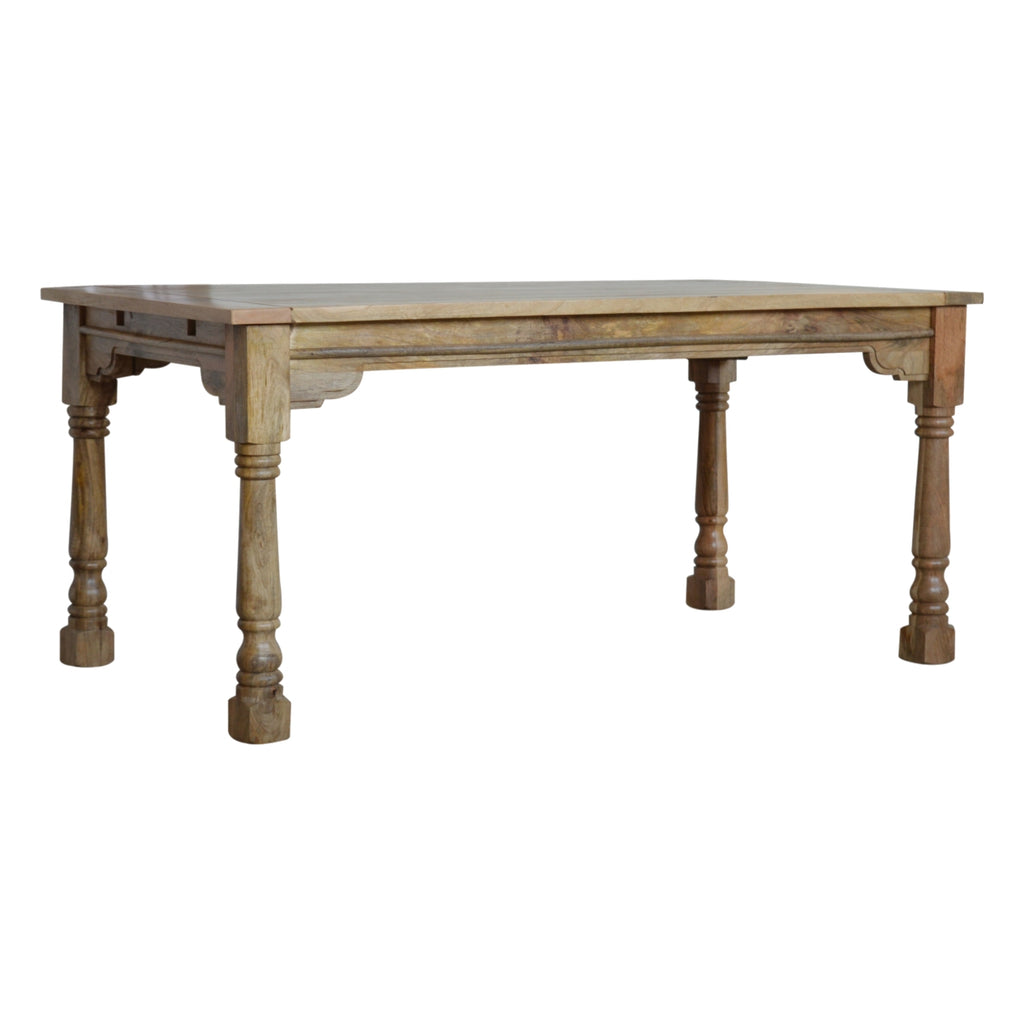 Granary Royale Turned Leg Extension Dining Table | GORGEOUS GEORGE