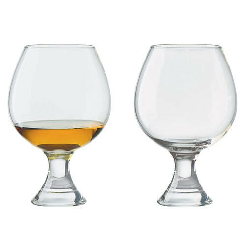 Manhattan Brandy Glasses Set of 2 - GORGEOUS GEORGE