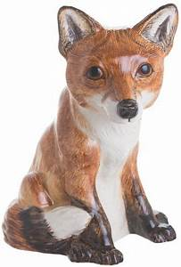 John Beswick Fox Money Box | GORGEOUS GEORGE