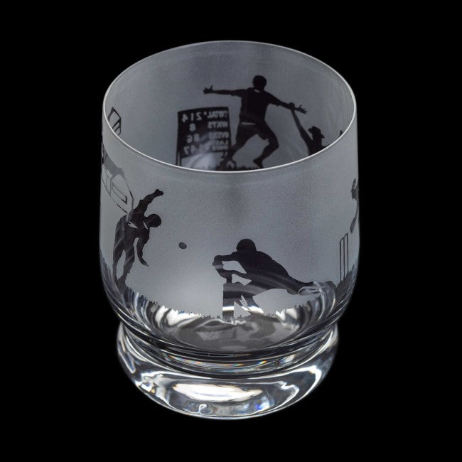 Dartington Crystal Aspect Cricket Tumbler | GORGEOUS GEORGE