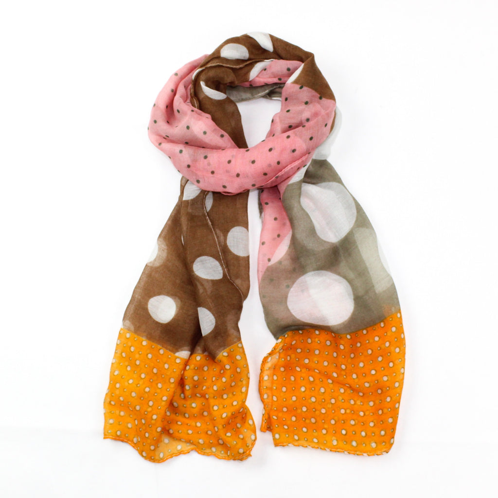 Abstract Spotted Scarf | GORGEOUS GEORGE