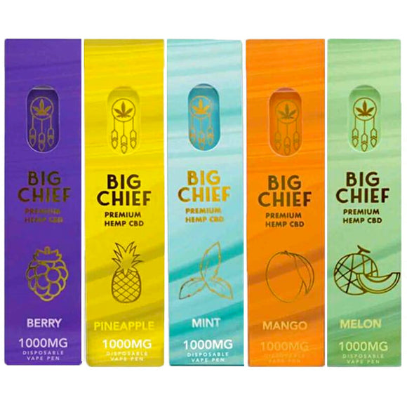 Big Chief Disposable Device 150-200 puffs