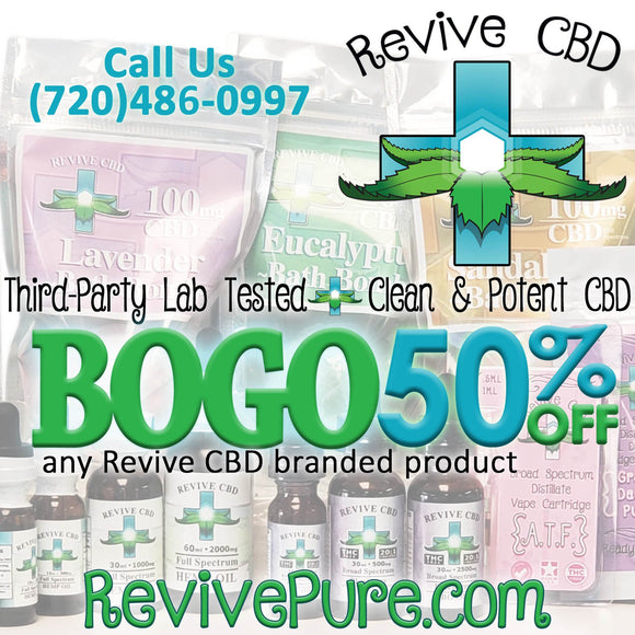Revive CBD: All Our Brand Products!