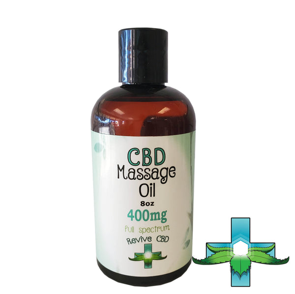 Revive Full Spectrum Massage Oil - Revive CBD