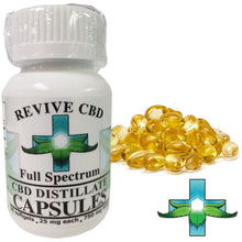 Revive CBD Full Spectrum Capsules 30 count 25mg/capsule (750mg total)