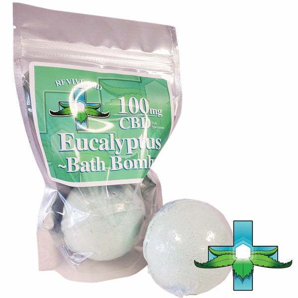 Buy CBD Bath Bombs in Littleton, CO! Revive CBD in Littleton, CO 80127! eucalyptus