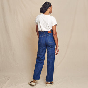 Clean Wide Pant - Stone