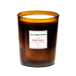 The Rainy Days in Lake District Candle - 7 - Myrrh, Labdanum and Ylang