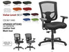 # 3 Best Task Chair Mesh Back w/Black Base, Black Mesh Back and Adj. Arms
